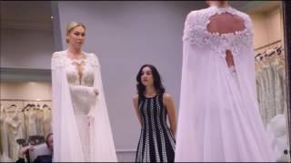 Kym Johnson Goes Wedding Dress Shopping with Carson Kressley