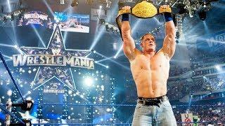 TOP 10 John Cena`s Most Memorable WrestleMania Moments