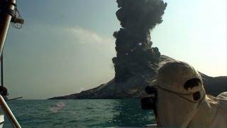 Eruption of Anak Krakatau Volcano