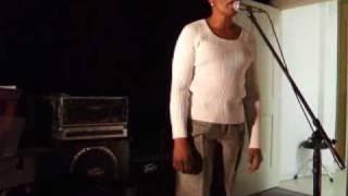 "Carman Jefferson singing ""Embraceable You"" Jazz Standard"