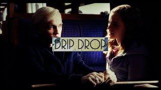 draco hermione || drip drop