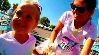 The Color Run 2016 Dayton Ohio (Color Vibe 5K with GoPro)