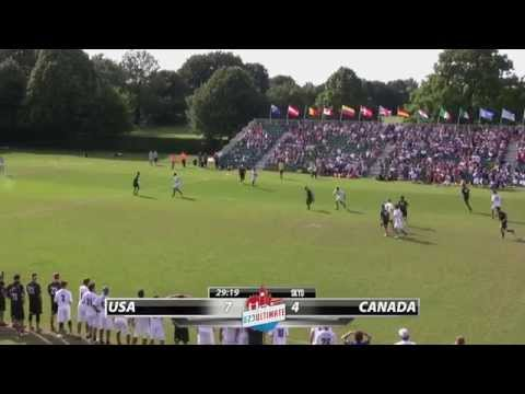 Video Thumbnail: 2015 World U-23 Championships, Men's Gold Medal Game: USA vs. Canada