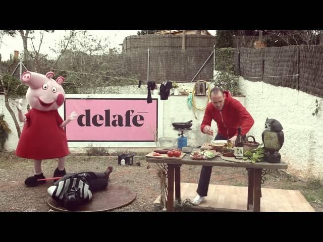 Video oficial del tema Lo más bonito del mundo de Delafé