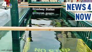 Why Did the MTA Flood a Subway Entrace ON PURPOSE? | News 4 Now