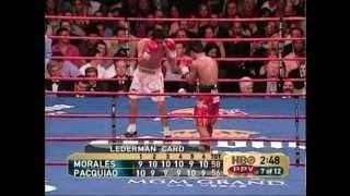 Manny Pacquiao vs Erik Morales I