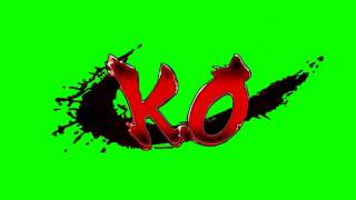 Street Fighter KO - Chroma Key ( Fundo Verde )