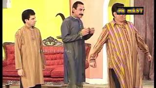 Best Of Iftikhar Thakur and Nasir Chinyoti New Pakistani Stage Drama Comedy Clip width=