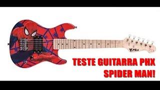 Guitarra PHX Marvel Spider Kids ( Cover Hot For Teacher- Van Halen)