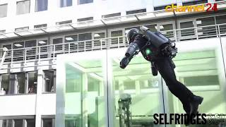 Inventor flies real-life Iron Man suit in London