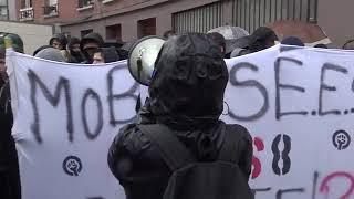 Les étudiants bloquent les partiels de Paris 8 (14 mai 2018, Saint-Ouen, France)