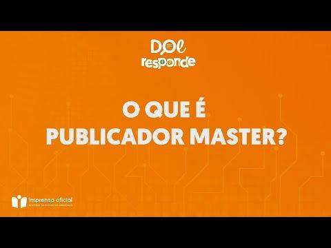 Vídeo: PUBLICADOR MASTER