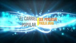 Que Pensaste - Paola Jara (LETRA)