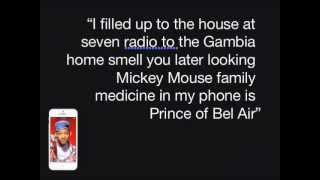 Fresh Prince of Bel-Air Theme Song - Sirioke Edition