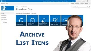 Archive SharePoint List Items