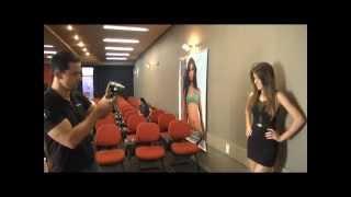 O olheiro Dilson Stein faz seleção de novas modelos em Divinópolis