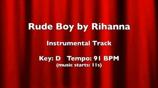 Rude Boy Instrumental 91bpm