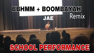 ROYAL FAMILY/BLACKPINK - BBHMM + BOOMBAYAH (Remix) SCHOOL PERFORMANCE | JAE