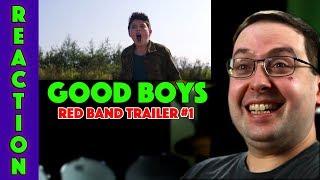 REACTION! Good Boys Red Band Trailer #1 - Jacob Tremblay Movie 2019