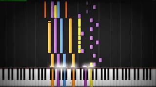 Black Coast - TRNDSTTR (Lucian Remix) Tutorial Synthesia