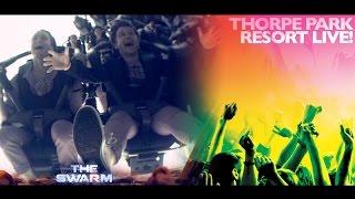 Rewind Singing Boomerang on THE SWARM - THORPE PARK Resort Live!