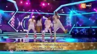 Lati-2RD feat Micheille Soifer - Quiero Darte en vivo (en el gran show)