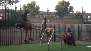 Funny video ! (seesaw)