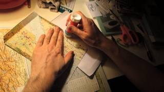 Make envelopes from old maps and atlases