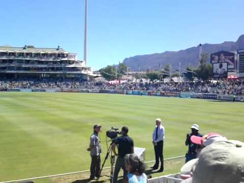 Newlands, South African National Anthem