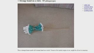 Article lists strangest things for sale on Albuquerque Craigslist