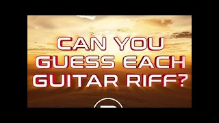 Air Guitar Anthems: Guitar Riff Quiz
