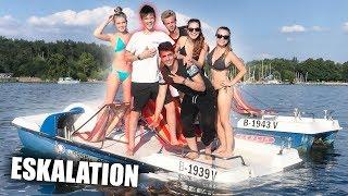 Mit den Mädels auf dem Boot  🌊