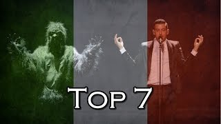 Top 7: Italy in Eurovision (2000-2017)