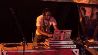 LUTAN FYAH LONGSIDE DJLASS ANGEL VIBES IN AFRO DIASPORA FESTIVAL( March 2017)