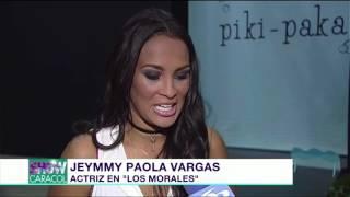 Jeymmy Paola Vargas y su papel en 'Los Morales' | Noticias Caracol