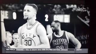 "G-Eazy ""Random"" Warriors Remix on ESPN SportsCenter"