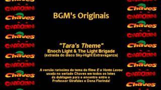 CHAVES & CHAPOLIN - Música da D. Florinda e do Professor Girafales - Tara's Theme (Completa)