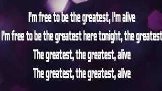 Sia  The Greatest feat  Kendrick Lamar Letra