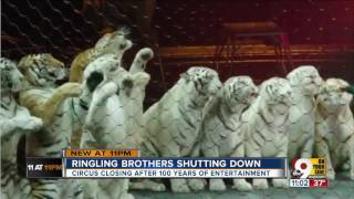 Man who was a clown in Ringling Bros. Circus reacts to closure