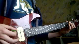 Rope - Foo Fighters Guitar Solo Cover