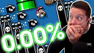 Clearing EVEN MORE 0.00% Levels Before MARIO MAKER 2 COMES OUT!!