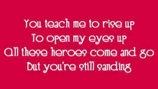 Heroes-David Cook Lyrics