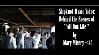 """Slipknot Music Video: Behind the Scenes of """"All Out Life"""""""