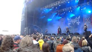 Mayhem live Copenhell 2011 - Freezing Moon