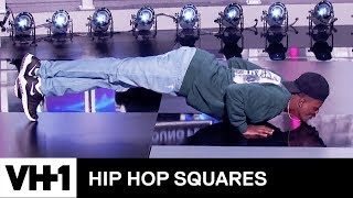 DC Young Fly & Michael Blackson's Push-Up Contest 'Deleted Scene' | Hip Hop Squares