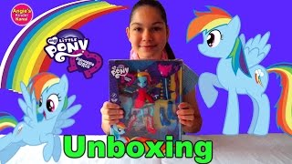 My Little Pony Deutsch Equestria Girls Rainbow Dash Puppe MLP Toys Unboxing