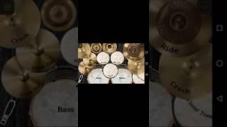 Fundo musical bateria virtual.