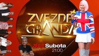 JELENA KARLEUSA // najava: Zvezde Granda / 25.11.17