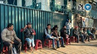 Una semana de protesta frente el Ministerio de Energía y Minas