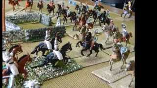 Crusade game 54mm using About Caesar wargame rule(Caliver books) the rule for particiation games